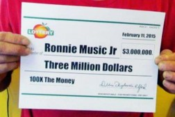 $3 Million Lottery Winner Drug