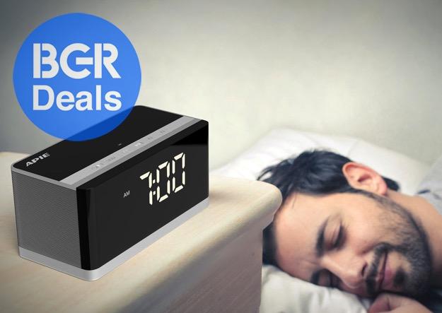 Best Alarm Clock For Heavy Sleepers On Sale On Amazon Bgr
