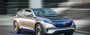 This is the Generation EQ: Stunning photos and video footage of Mercedes' hot new EV concept