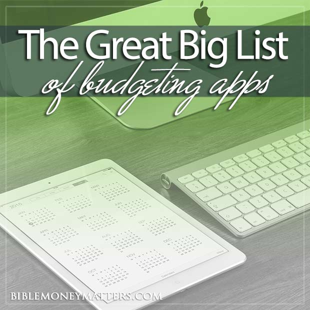 The Great Big List Of 75 Budgeting Tools, Finance Software And Apps