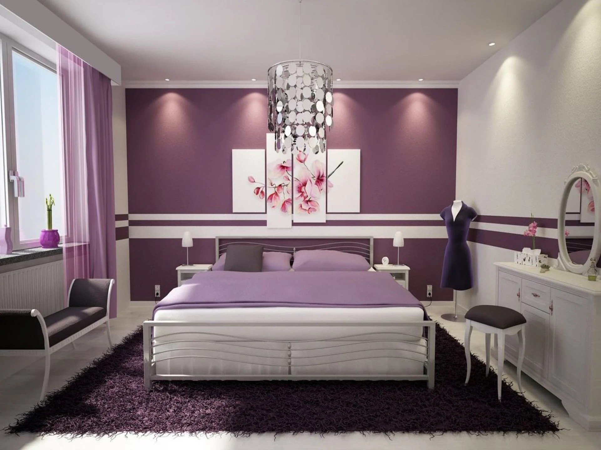 Black White And Purple Living Room 23 Inspirational Purple Interior Designs You Must See