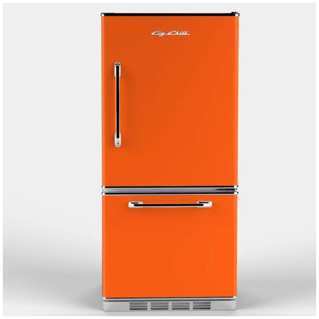 Yellow Fridge Freezer 4 Ways To Use Orange In Your Kitchen