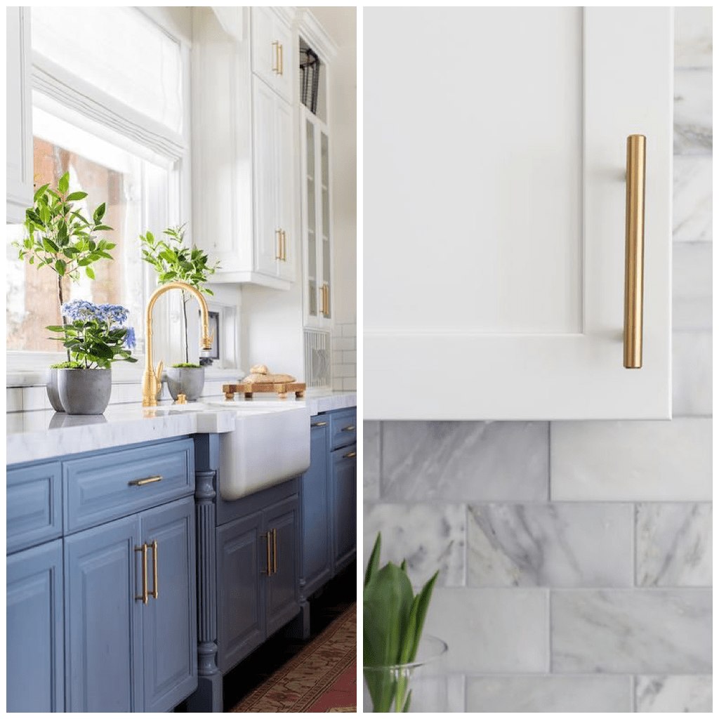 What Color Countertops Go With White Cabinets 6 Metallics That Look Stunning In Your Kitchen