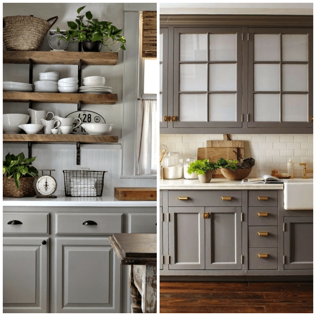 Kitchen Counter Cabinet Combinations 6 Shades Of Gray For A Kitchen That Is Anything But Boring
