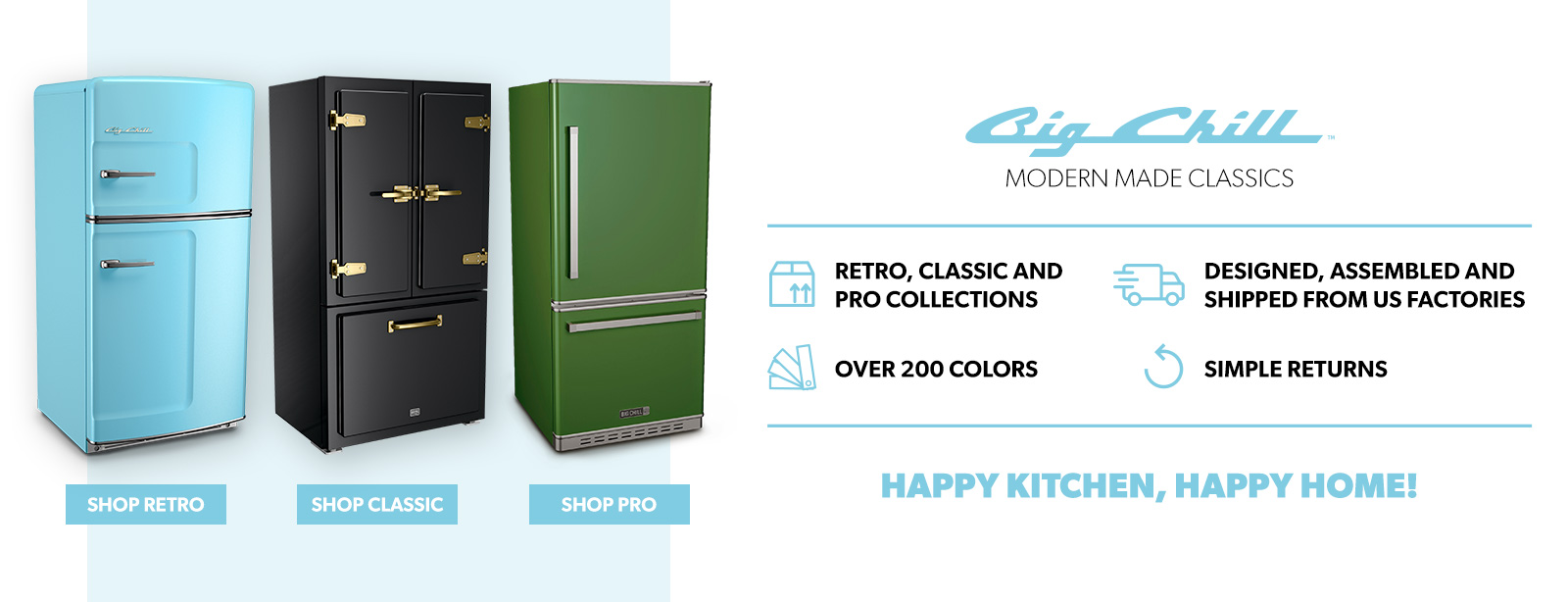 Cucina A Gas Vintage Retro And Professional Kitchen Appliances Big Chill