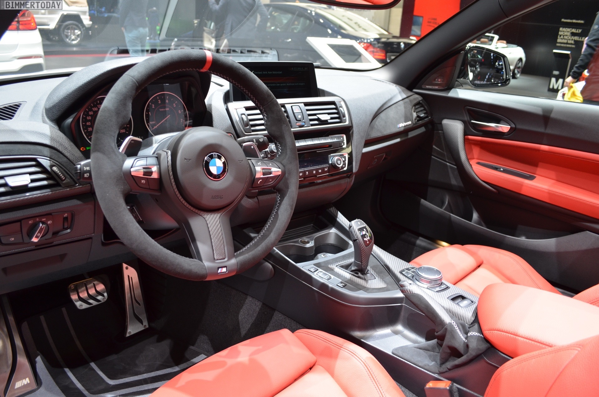 Interieur M Performance Genf 2017 Bmw M240i Cabrio F23 Mit M Performance Tuning