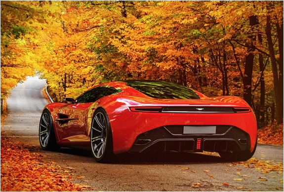 Exotic Cars Wallpaper Pack Aston Martin Dbc Concept By Samir Sadikhov