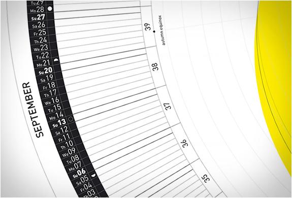 Circular Calendar 2015 - circular calendar