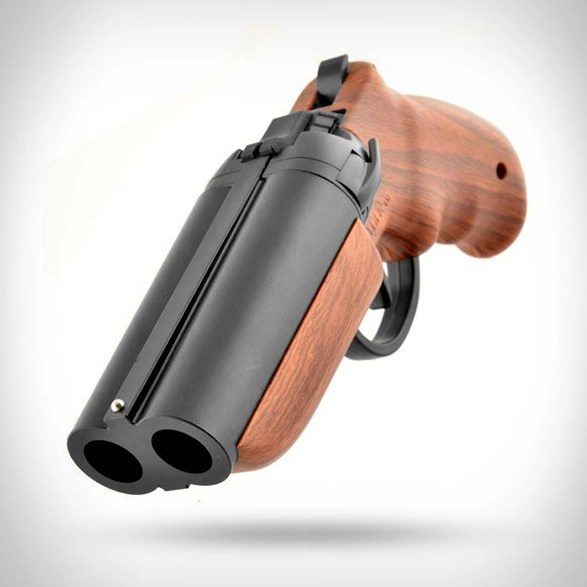Barrel Grill Double-barrel Paintball Pistol