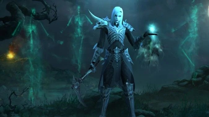 Hd Knife Wallpaper Diablo 3 Necromancers Are Just Too Serious For Dancing