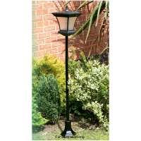 Solar Powered Garden Lamp Post 1.3m   Lights & Ornaments