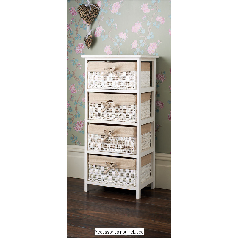 Play Set Dolls B&m Juliet 4 Drawer Basket Unit - 333865 | B&m