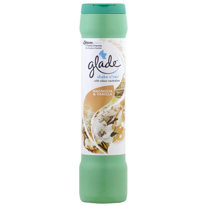 Lantern Bathroom Lighting Glade Shake 'n Vac Magnolia & Vanilla 500g | Carpet Cleaner