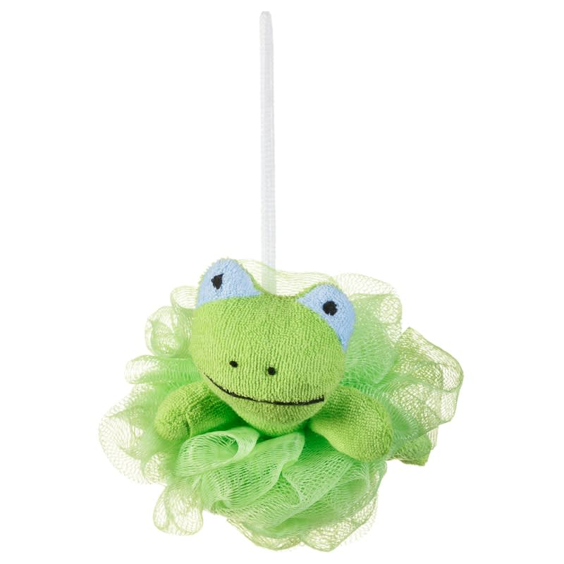 Novelty Body Puff - Frog Beauty Accessories - BM Stores - frog body