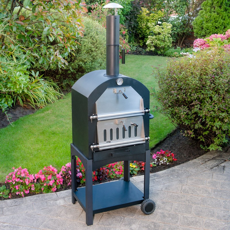 Temperature Four Pizza Bois Wood Fired Pizza Oven | Bbqs, Garden Oven, Garden - B&m