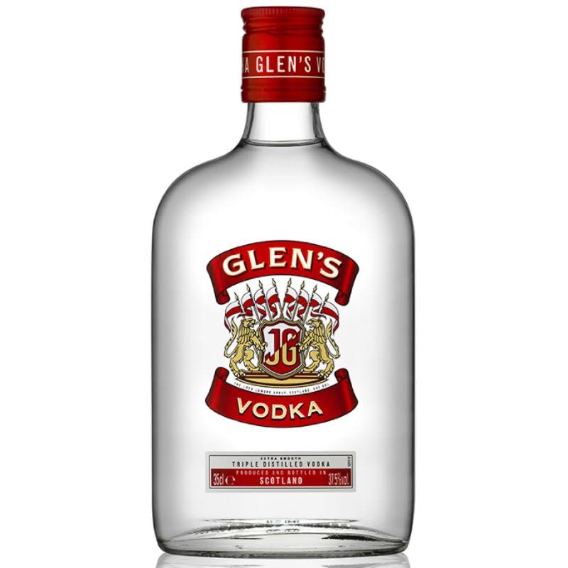 Animal Print Wallpaper Uk Glen S Vodka 35cl Alcohol Spirits B Amp M