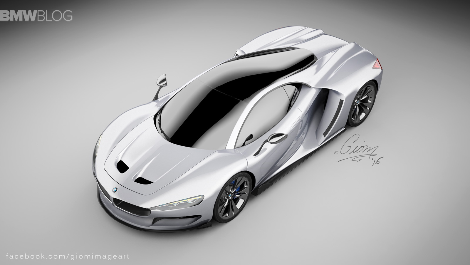 Phantom Car Wallpaper Rendering Bmw Hypercar To Compete With Mclaren P1 And