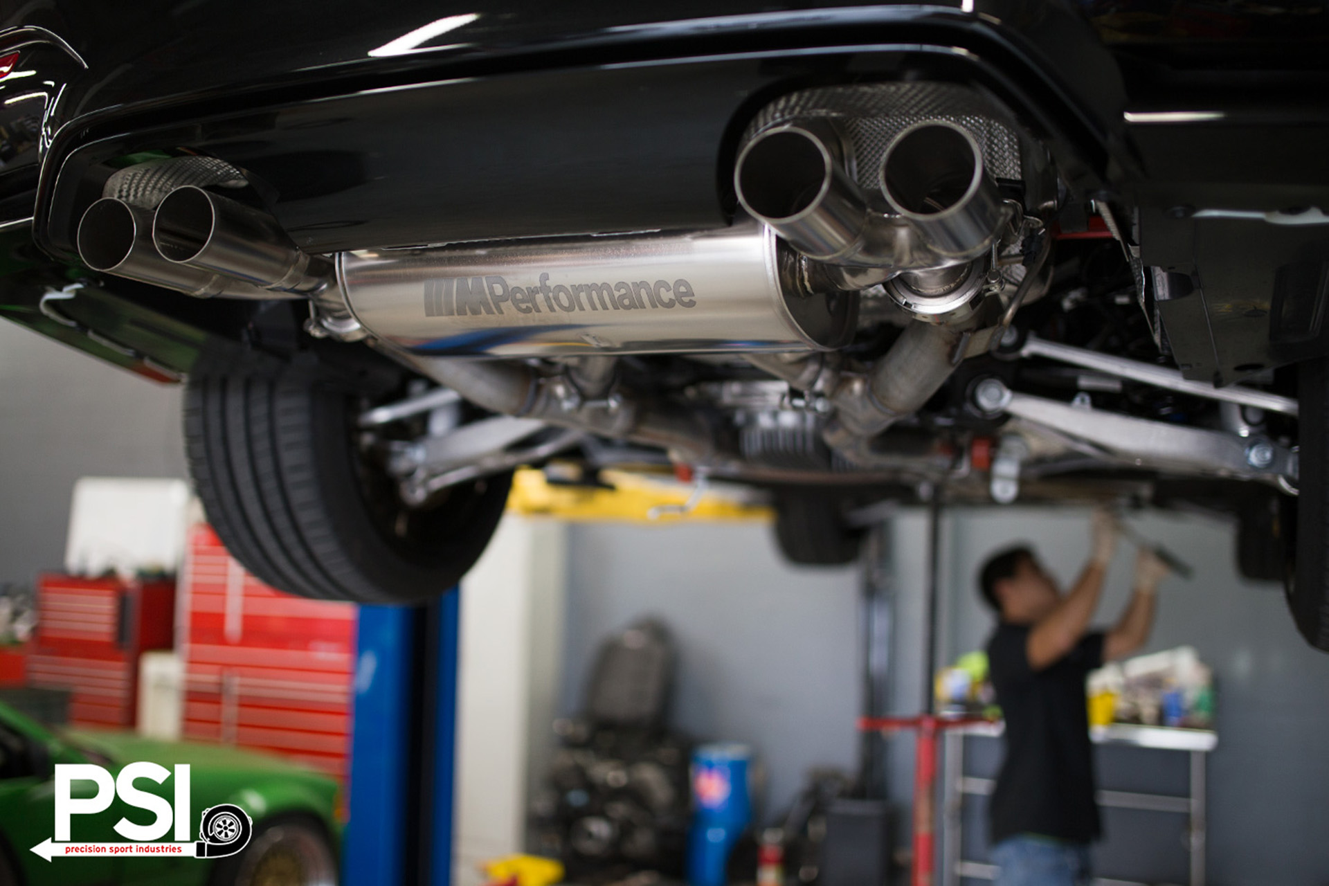 M4 Performance Exhaust Bmw Performance Exhaust System Installed By Psi