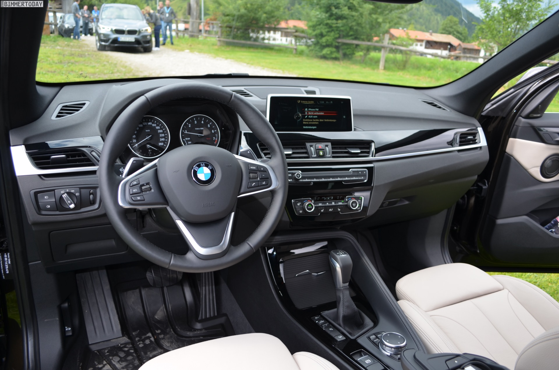 Interieur X1 2014 2016 Bmw 2015 X1 Interior Miifotos