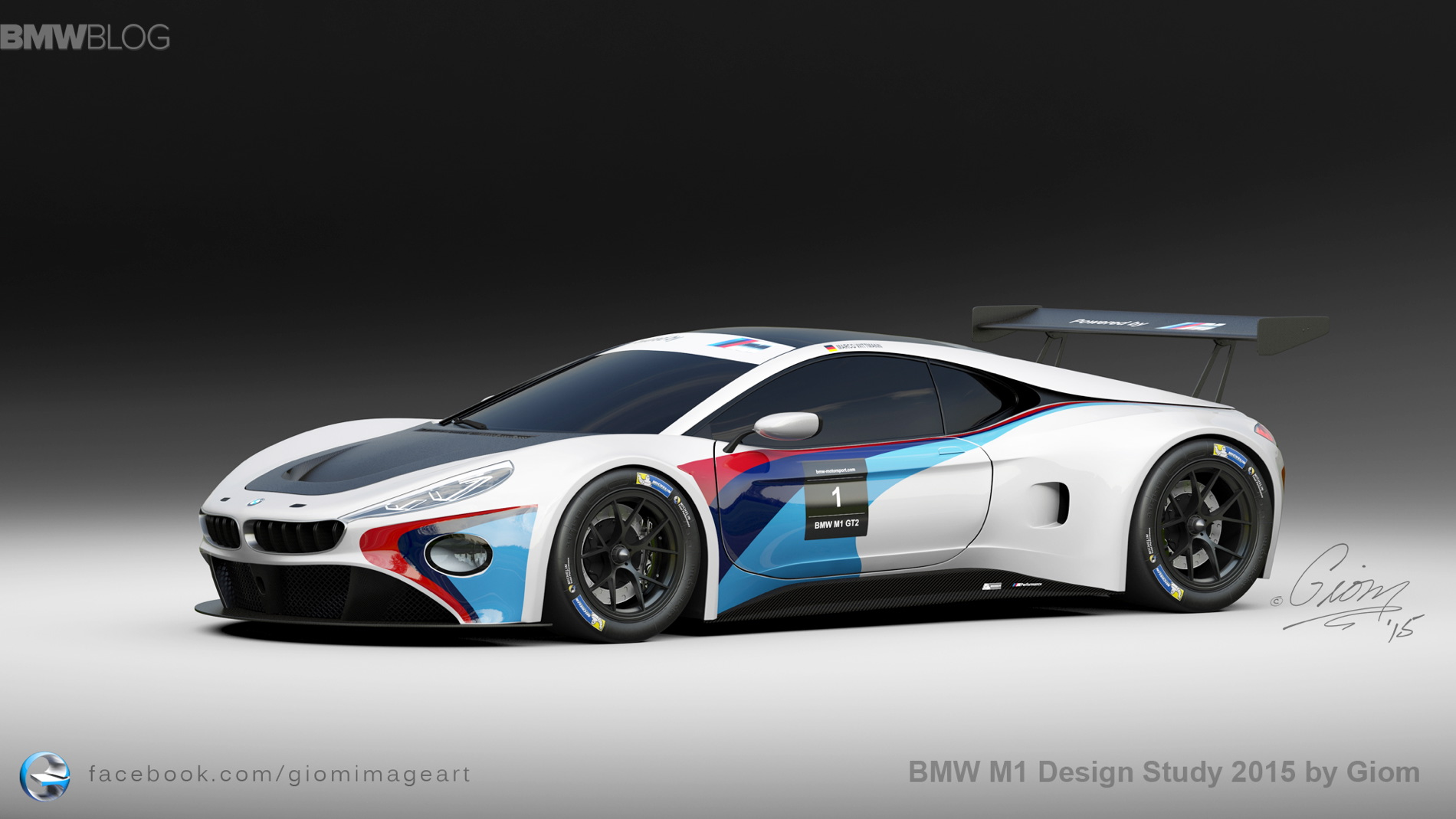 Exotic Cars Wallpaper Pack Bmw M1 Design Study Shows A Futuristic Supercar