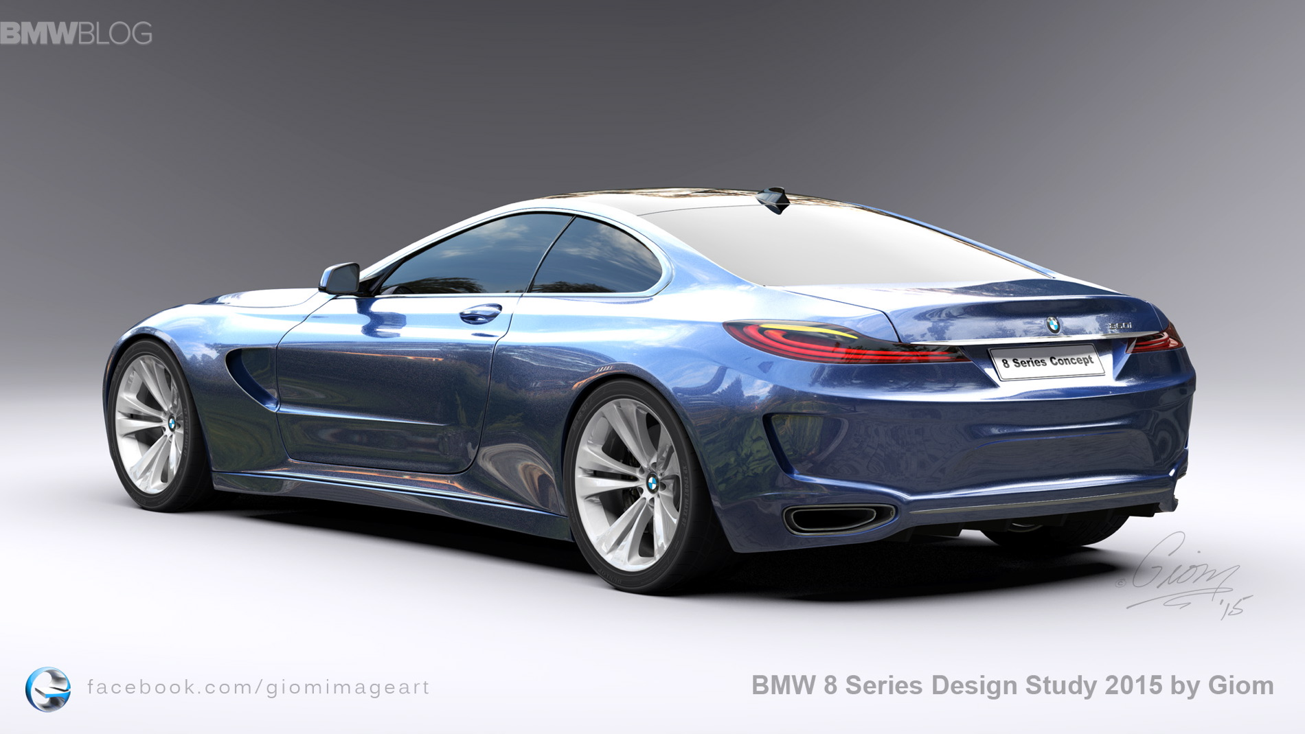 Bmw Car Hd Wallpaper Bmw 8 Series Design Study Aims To Revive The Spirit Of The