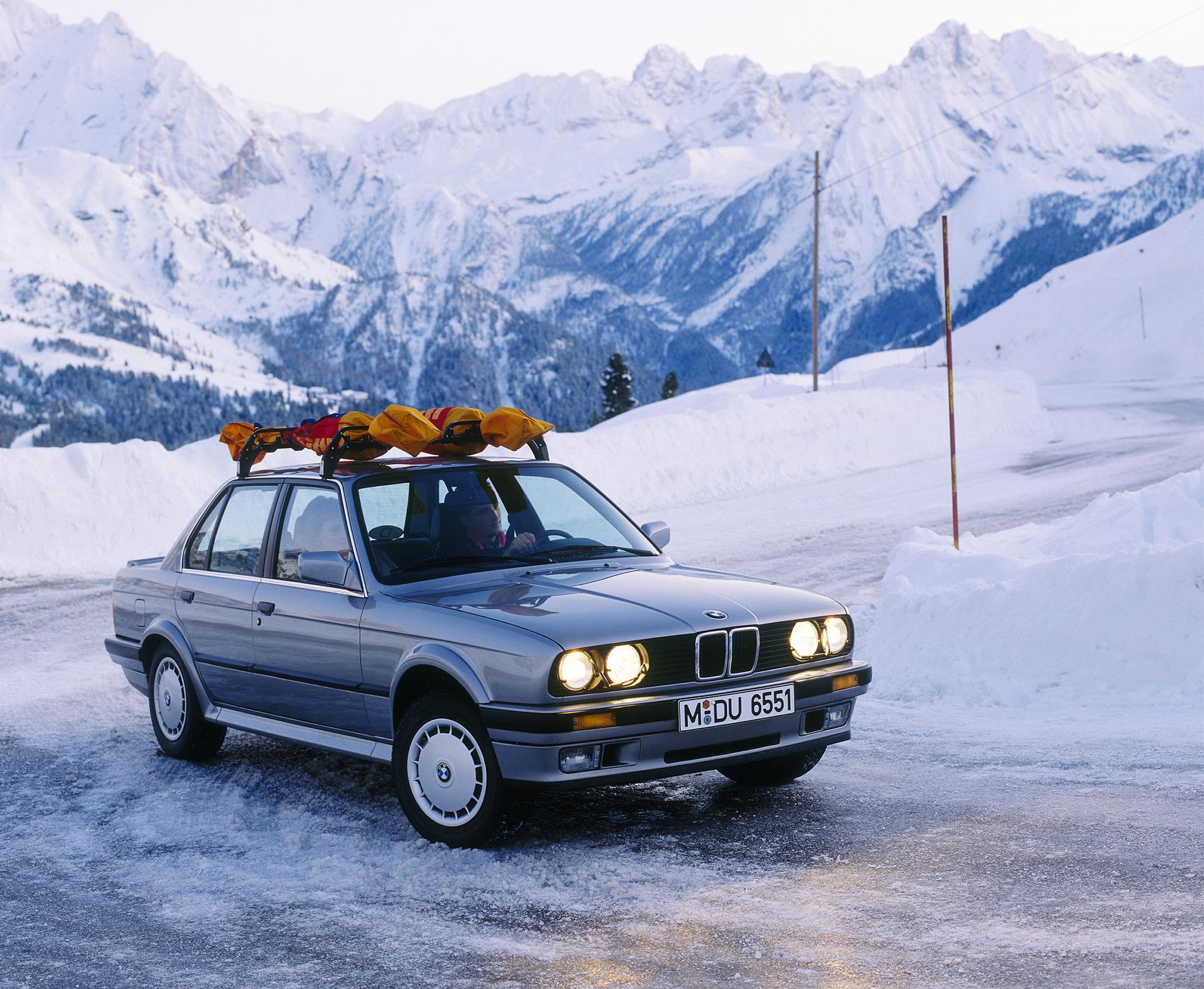 Rally Car Wallpaper Snow Video E30 Bmw 325ix The Beginning Of Xdrive