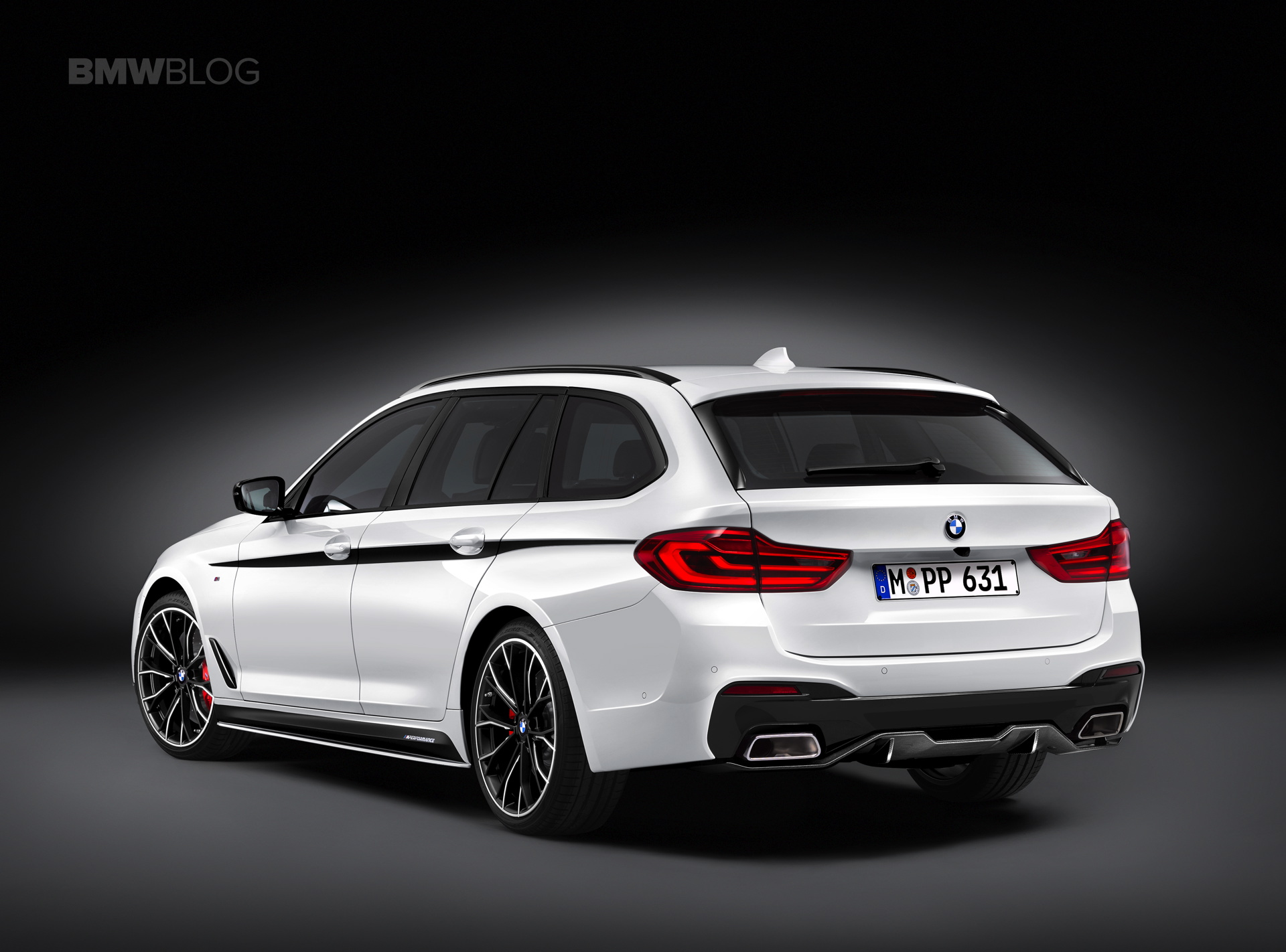 Bmw 5 Series Touring Xdrive Bmw M Performance Parts For The New Bmw 5 Series Touring