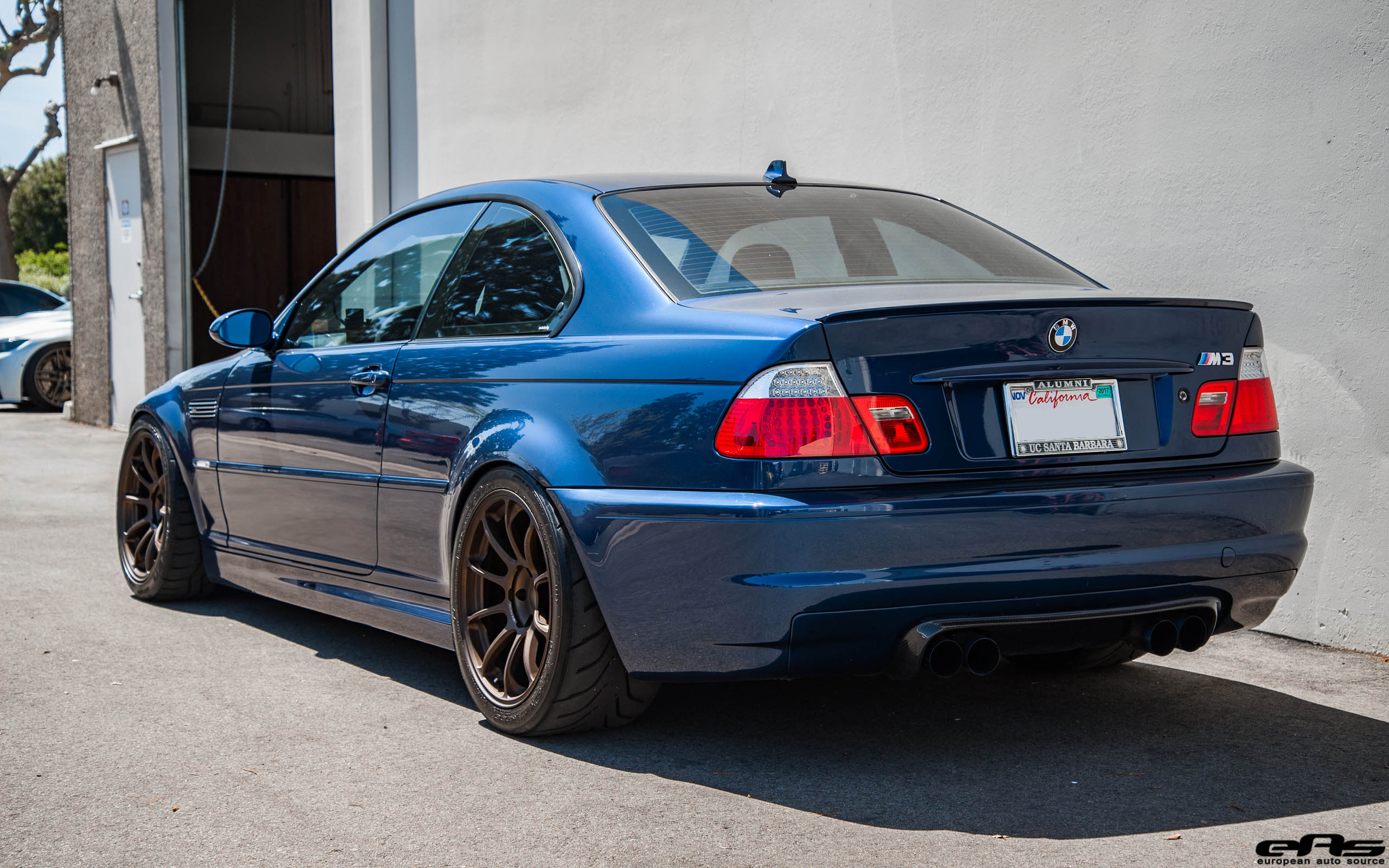 Tuner Car Wallpaper Hd A Mystic Blue Bmw E46 M3 Gets Aftermarket Goodies At