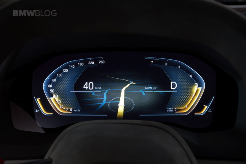 Car Display Wallpaper Vw Video Check Out The Bmw 8 Series Concept S Crazy Digital