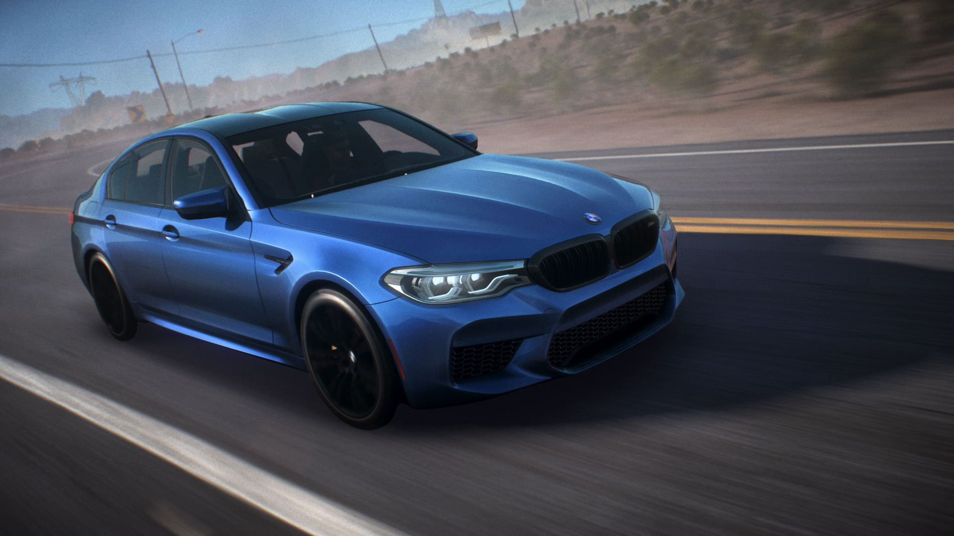 Stunning Fall Wallpapers The All New Bmw M5 In Need For Speed Payback