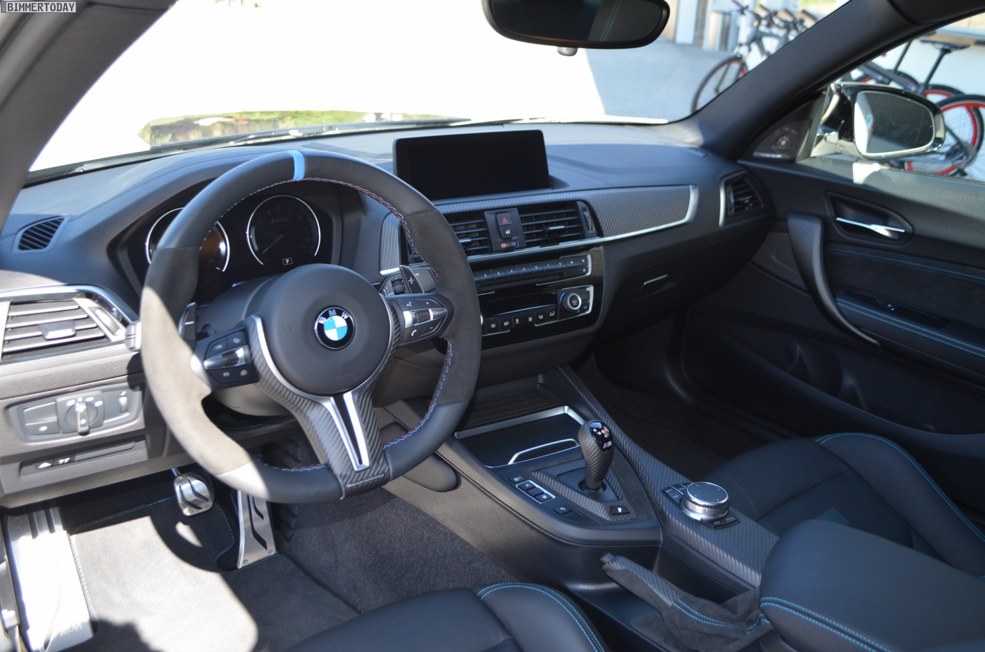 Interieur M Performance Bmw M2 Competition With M Performance Parts Live Photos