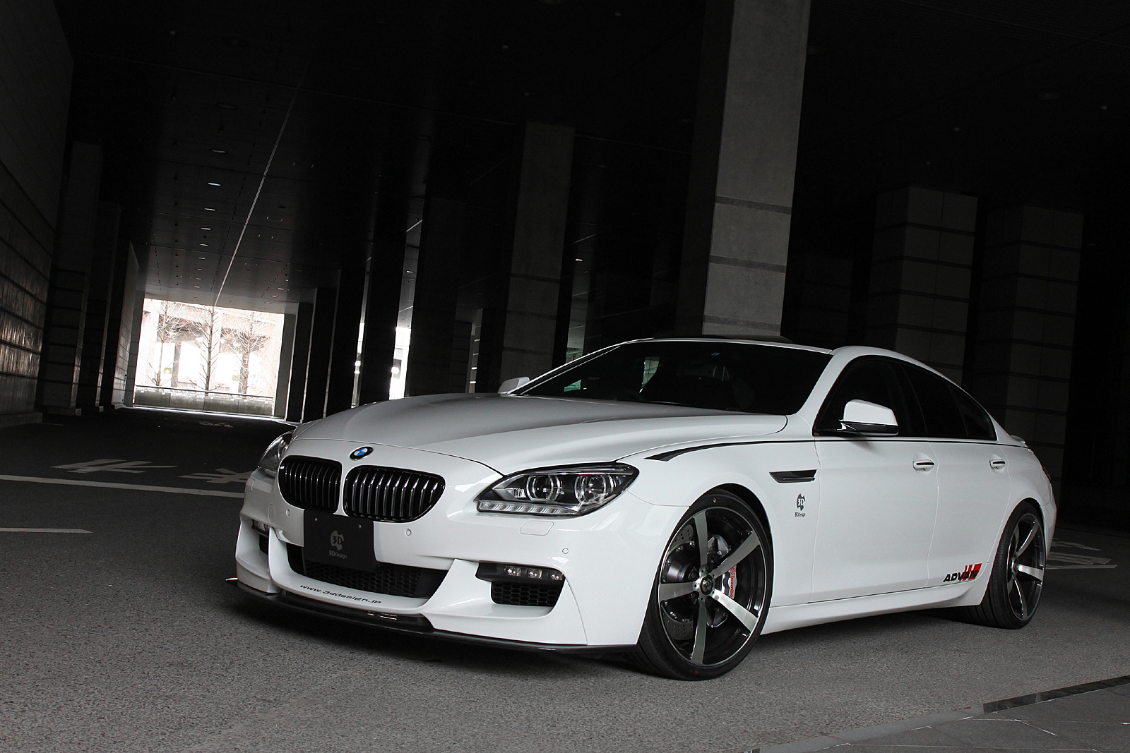 Bmw Gran Coupe 6 Bmw 6 Series Gran Coupe By 3d Design