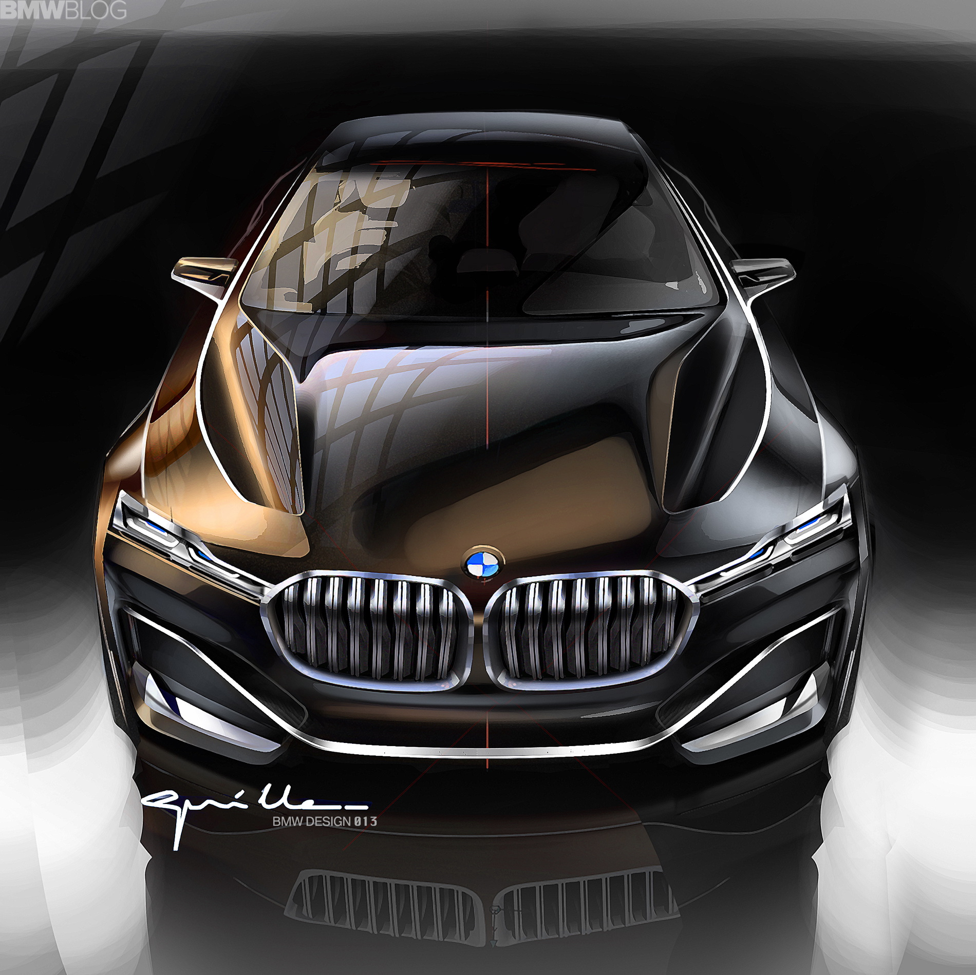 Limousine Car Wallpaper Bmw Rumored To Greenlight The 9 Series Coupe Positioned