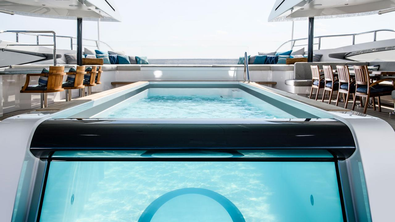 Jacuzzi Full Moon Underwater Pool Light The Best Superyacht Pools In The World Boat International