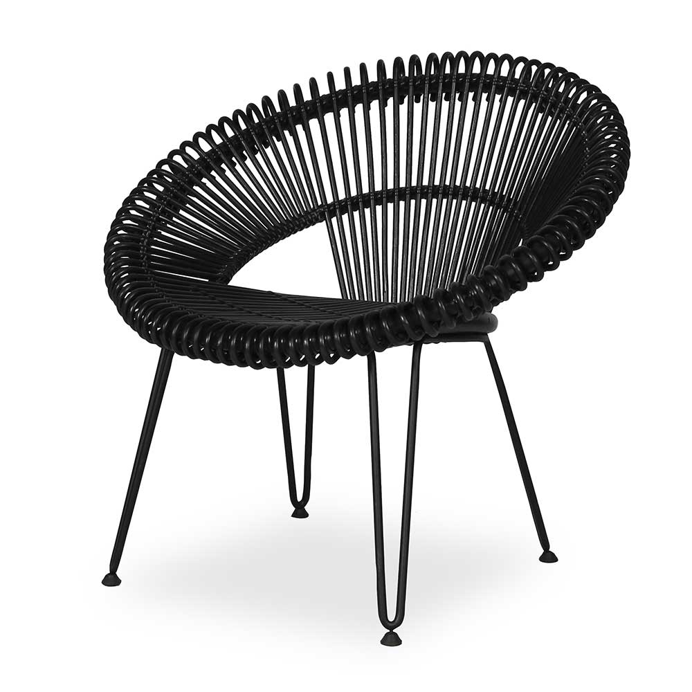Vincent Sheppard Cruz Lazy Chair Black By Vincent Sheppard Brewers Home