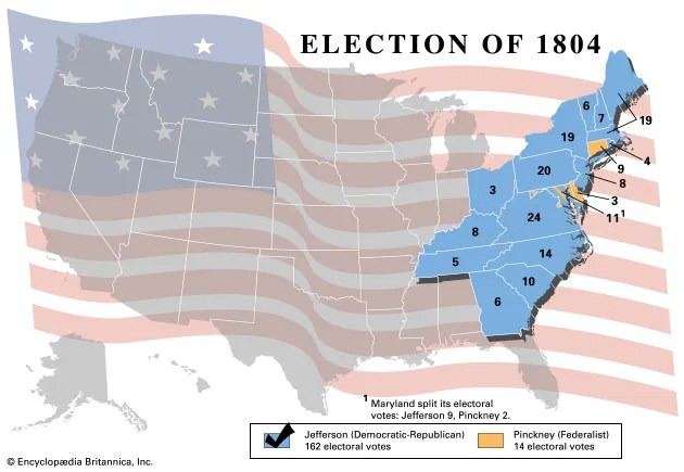 United States presidential election of 1804 United States