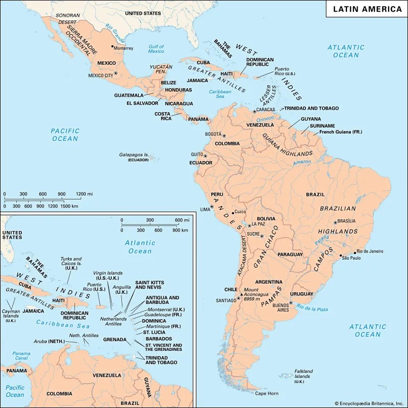 history of Latin America Events  Facts Britannica