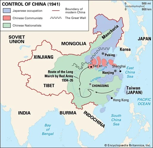 Chinese Civil War Summary, Causes,  Results Britannica