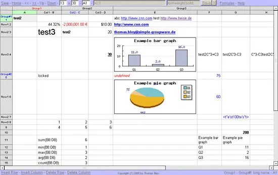 Spreadsheet computing Britannica