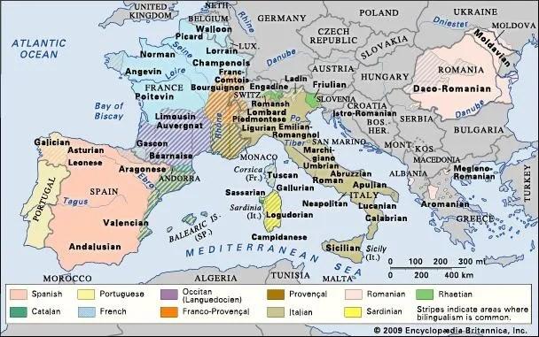 Romance languages Description, Origin, Characteristics, Map