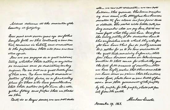 Gettysburg Address Text  Context Britannica