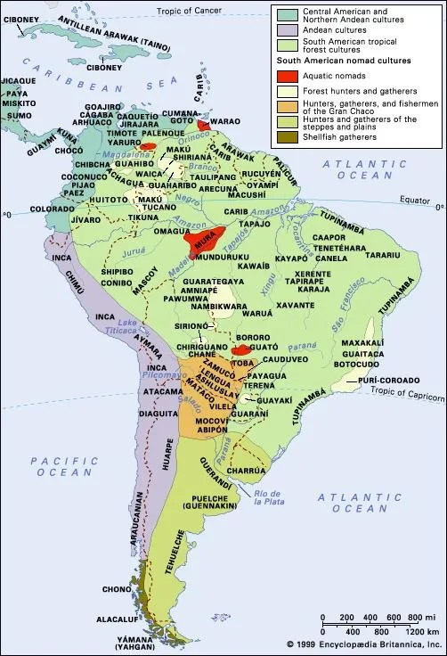 South American Indian people Britannica
