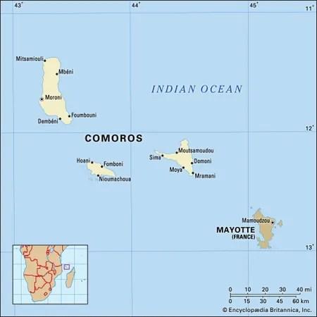 Comoros Culture, History,  People Britannica