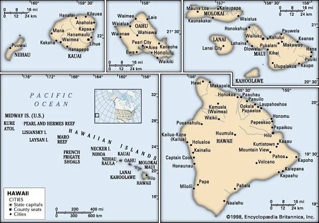 Hawaii History, Map, Flag,  Facts Britannica