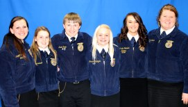 2013-2014 South Dakota State FFA Officers