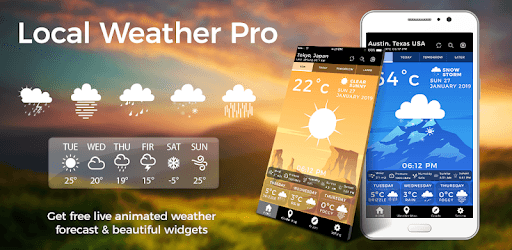 weather channel app for windows 7 pc