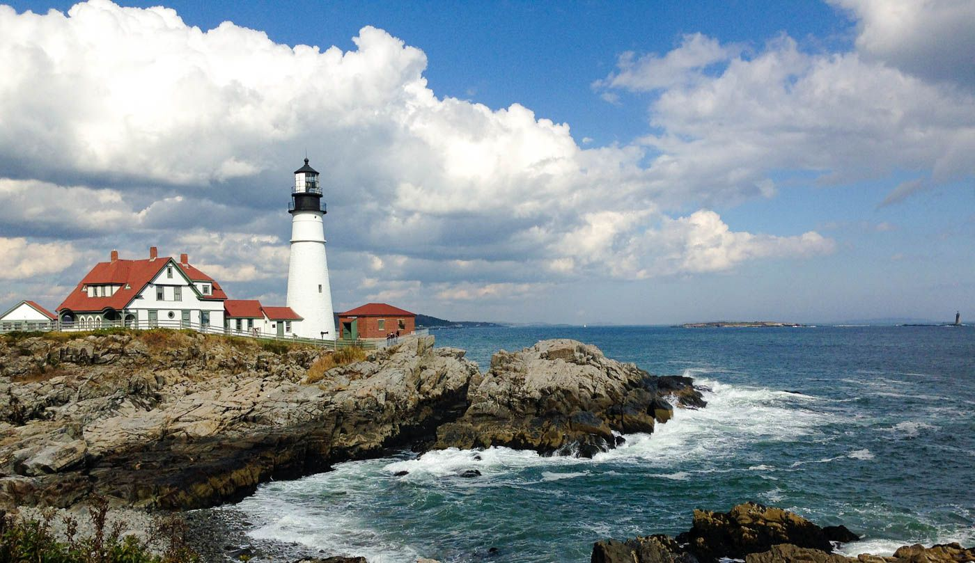 Vacation Couple Blog Portland Maine Travel Costs Prices Waterfront The