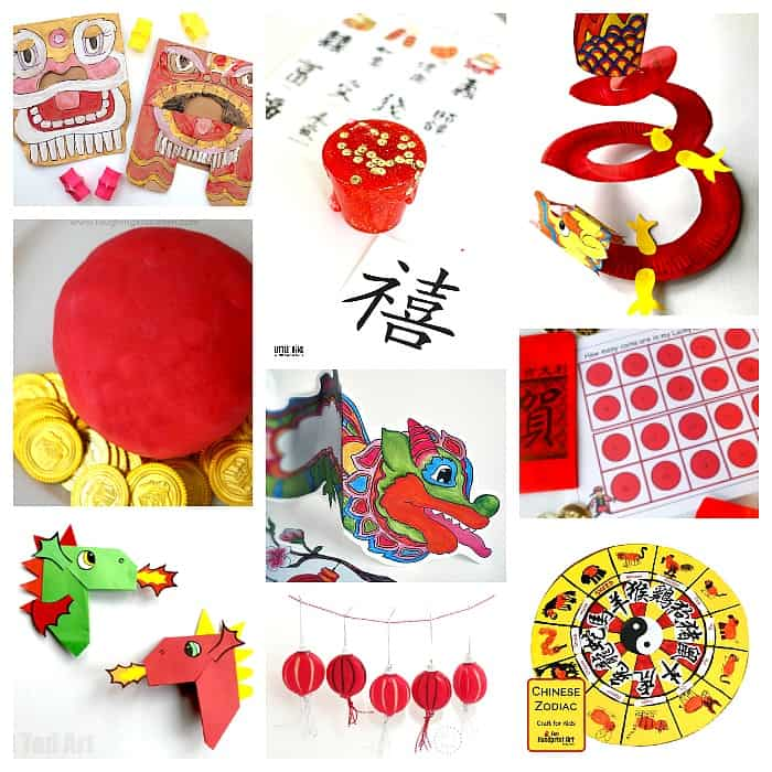 50+ Chinese New Year Crafts and Activities for Kids - Buggy and Buddy