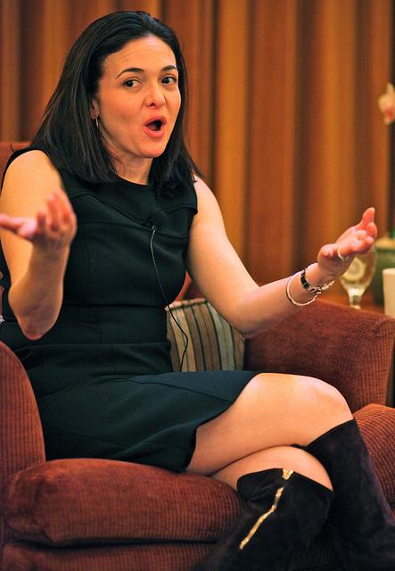Sheryl Sandberg Here\u0027s How Did It FACEBOOK