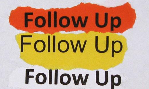 Customer Service Training The Seven Fundamentals of Follow-Up